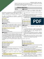 PGE-PB prova objetiva