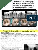 10 Retratarea endodontică