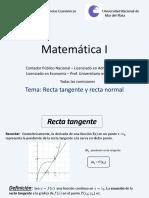 Clase 12 - Recta tangente y recta normal versión para imprimir