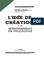 L'idée de création et ses retentissements en philosophie - A. D. Sertillanges O.P.