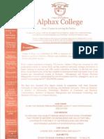 ALPHAX PROSPECTUS