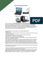 Cara membuat koneksi antar laptop dengan Wireless