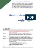 Plano 21-23 de Escola