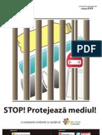 Afiș Campanie STOP!Protejează mediul. 2010