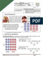 MATEMÁTICA 9 - Propiedades de La Multiplicación