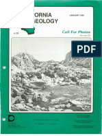 California Geology Magazine January 1991