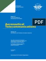 ANNEX 10 - Aeronautical Telecomunications (Volume IV)