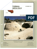 California Geology Magazine November 1991