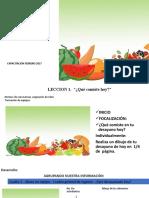 Alimentos-Primer Grado Secuencia Didàctica. Por Realimentar