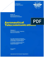 ANNEX 10 - Aeronautical Telecomunications (Volume v)