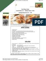Heck s Cafe menu