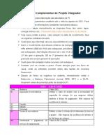 Atividade Complementar do Projeto Integrador - Lançamentos Contábeis