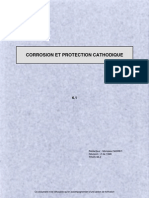 CORROSION ET PROTECTION CATHODIQUE