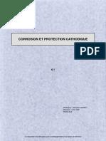 CORROSION ET PROTECTION CATHODIQUE