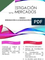 03. Contenido - Unidad I. Introducción a La Investigación de Mercados