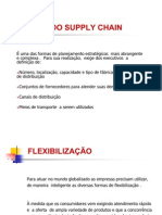 VISÃO DO SUPPLY CHAIN