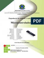 Apostila Microcontroladores e Microprocessadores Engenharia de Controle e Automação