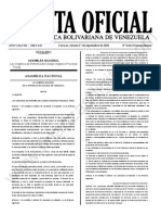 Gaceta Oficial Extraordinaria N°6.644: Ley Orgánica de Reforma del Código Orgánico Procesal Penal