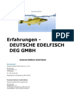 Erfahrung - Deutsche Edelfisch GmbH