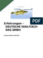 Erfahrung - Deutsche Edelfisch GmbH - Zanderzucht