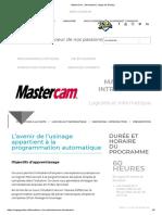 MasterCam _ Introduction _ Cégep de Granby - - Copie