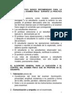 Modelo didactico basico para examen fisico