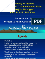 657_Lect_1 Interpersonal Commuincation skill