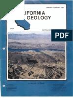 Caliornia Geology Magazine Jan-Feb 1992