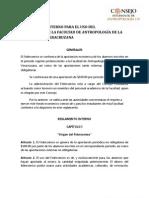 to Interno de Fideicomiso Estudiantil Antropologia