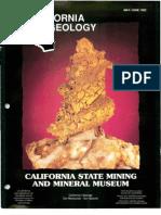 Caliornia Geology Magazine May-Jun 1992