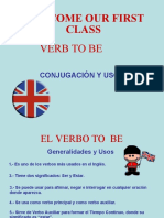 Presentacion Verb to Be and Possessive Adjectives