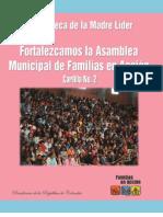 2. Fortalezcamos la Asamblea Municipal de Familias en Accion
