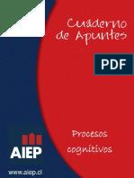 Cuaderno de Apuntes Procesos Cognitivos