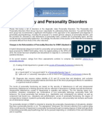 APA - (2011) DSM-5 Development. Personality and Personality Disorders