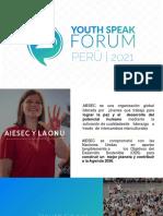 Booklet Youth Speak Forum Peru 2021