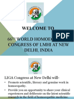 66th World Homeopathic Congress