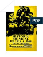 Thomson David - Historia Mundial De 1914 A 1968