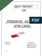 pen drive as an atm