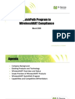QuickPath Program to WirelessHART Compliance