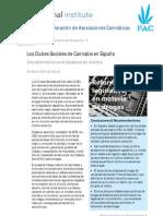 Los Clubes Sociales de Cannabis en España