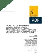 T1-Informe Proyecto de Inversión