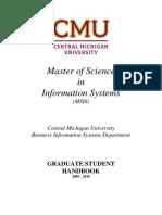 MSIS Handbook 2009-2010 Version 4
