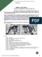 Auto-Innovations _ BMW 2.0d (N47), Le Premier Diesel de Production à Plus de 100 Ch_l