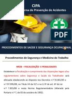 Aula 08 - Procedimentos de Saúde e Segurança Ocupacional