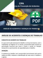 Aula 03 - Análise de Acidentes e Doenças do Trabalho