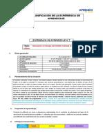 EXPERIENCIA DE APRENDIZAJE 7 -3º,4° y 5º -  AyC (1)