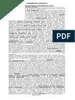 DECLARACION JURADA DE PERDIDA DE TITULO JUAN DE JESUS TAREA