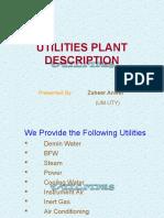 Utility Plant Description