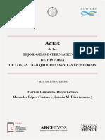 Actas III Jornadas