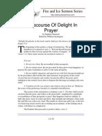 A Discourse Of Delight In Prayer